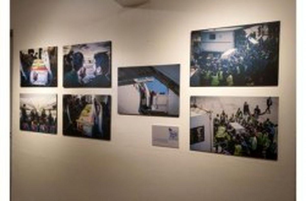روایت زندگی سردار سلیمانی در نمایشگاه عکس کیش