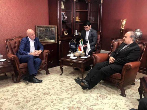 جزییات جلسه وزیرورزش با رییس فیفا در سوییس