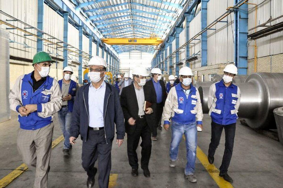 گسترش همکاری شرکتهای فولاد مبارکه و مجتمع صنعتی فولاد اسفراین
