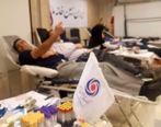 اهدای خون توسط کارکنان بانک ایران زمین