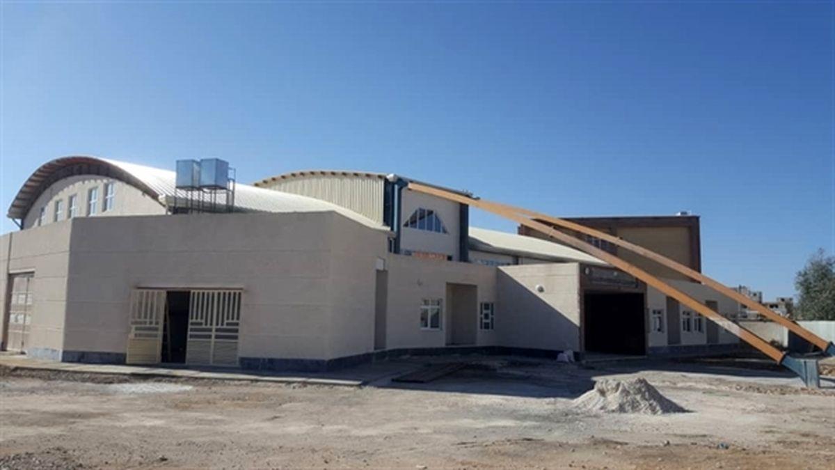 ساخت مجموعه ورزشی چند منظوره در منطقه زلزله زده سرپل ذهاب استان کرمانشاه توسط بانک کشاورزی