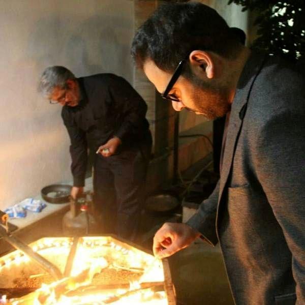 احسان علیخانی در محرم