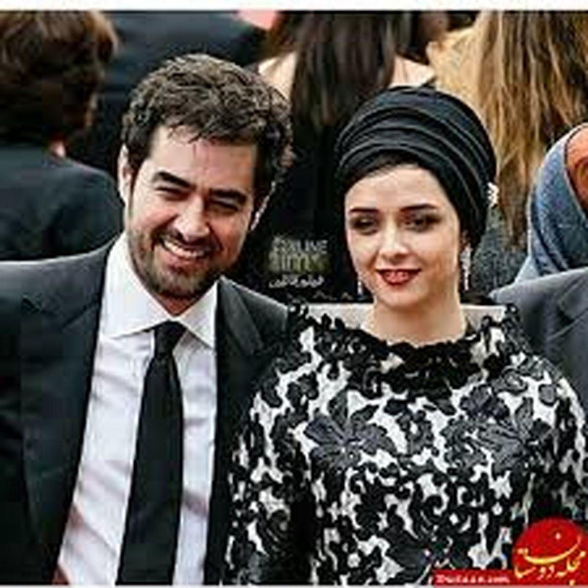 شهاب حسینی در اغوش یک خانم در ترکیه + عکس