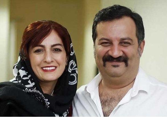 عکس لو رفته و جنجالی از مراسم ازدواج شقایق دهقان و همسرش مهراب قاسم خانی + عکس