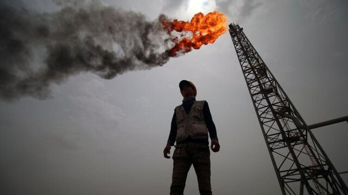 دلیل منفی شدن قیمت نفت