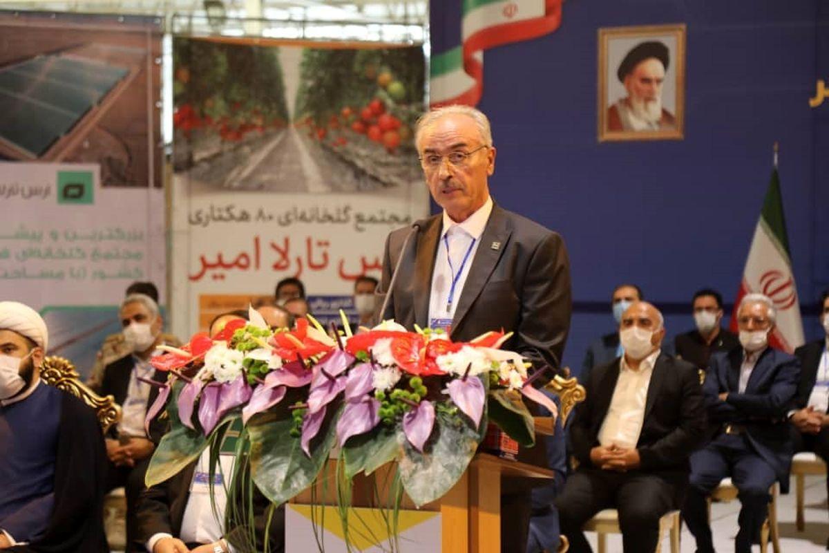 افتتاح ۱۲ طرح صنعتی و کشاورزی در منطقه آزاد ارس