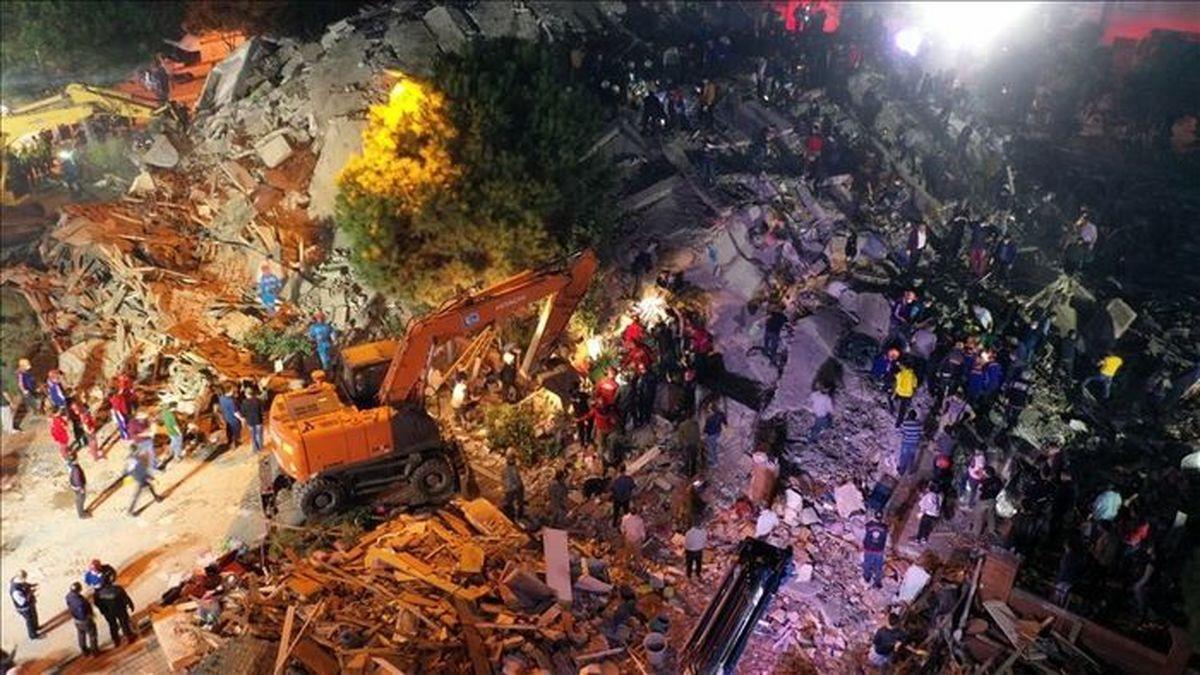 آخرین تلفات زلزله ترکیه + جزئیات
