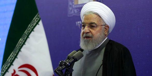رئیس جمهور: همچون ابراهیم بت آمریکا را شکستیم