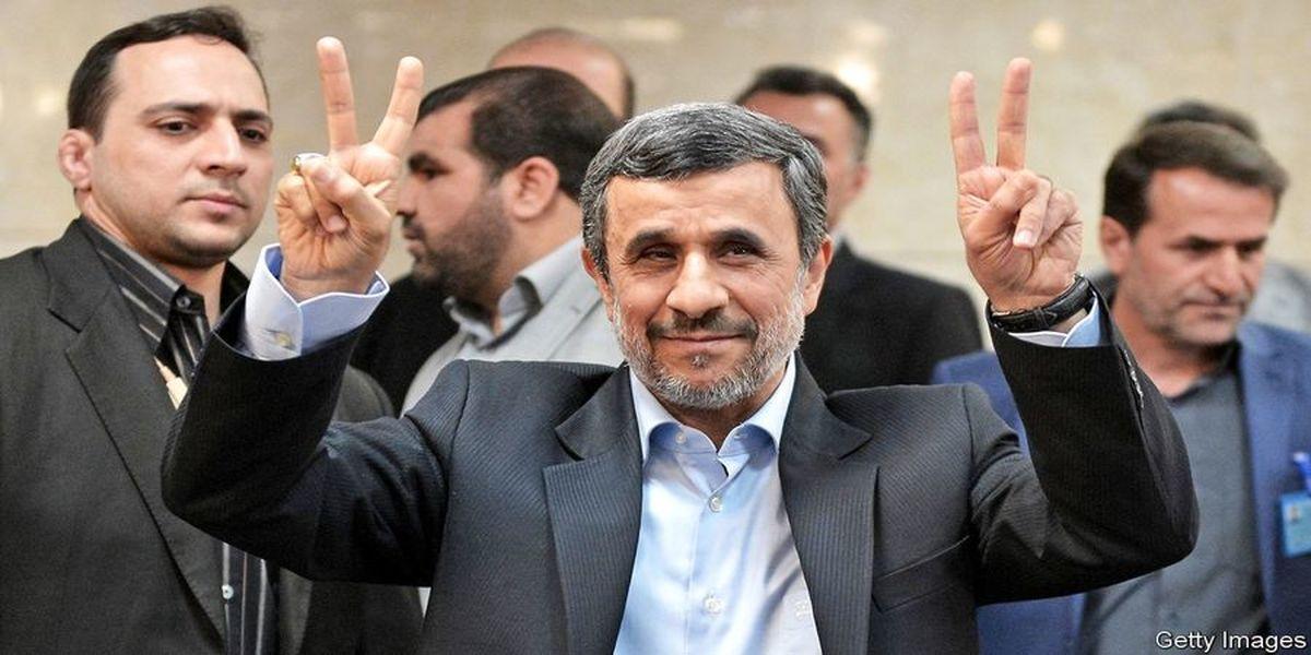 کتک کاری در زمان ورود احمدی نژاد به وزارت کشور + فیلم
