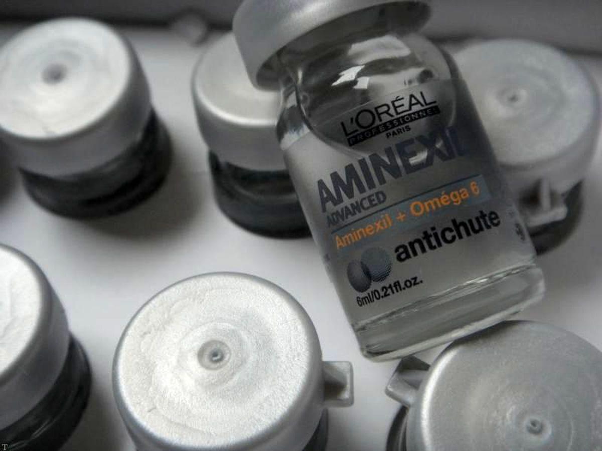 درمان ریزش مو با داروی آمینکسیل