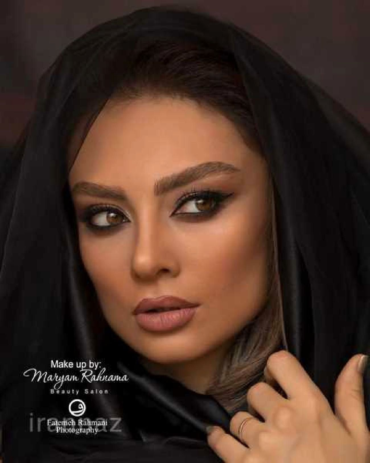 عکس یکتا ناصر به عنوان مدل آرایشی