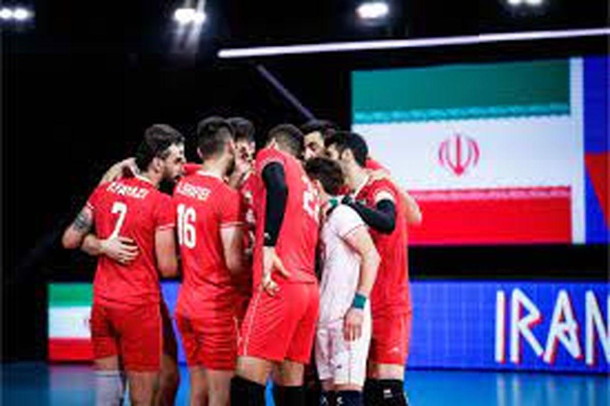 زمان بازی والیبال ایران - کانادا