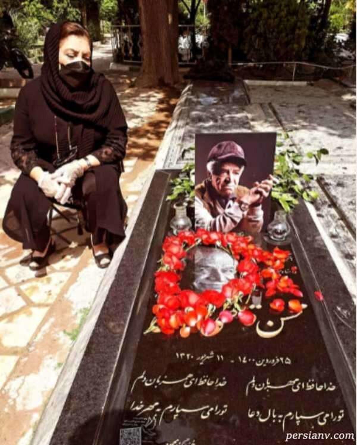 عکسهای دیده نشده از مراسم چهلم محسن قاضی مرادی + عکس