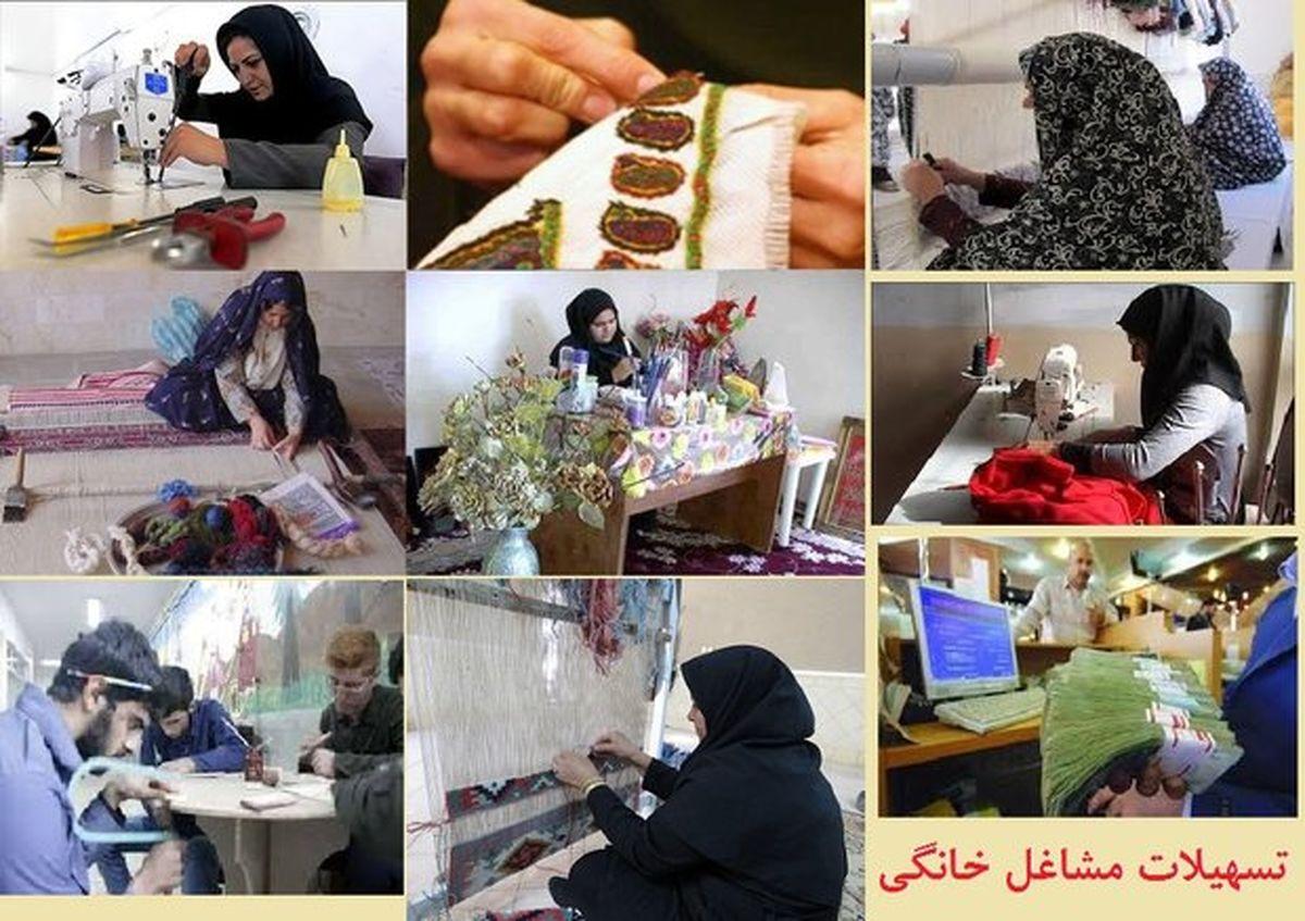 نمایشگاه مشاغل خانگی بانوان در قائمشهر