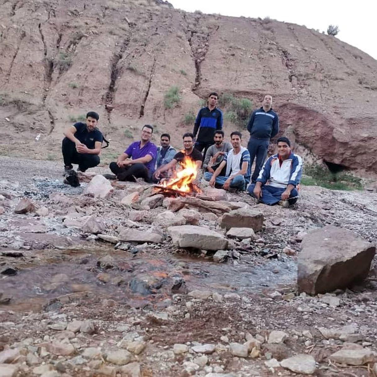 اولین دوره از کوهنوردی کارکنان مجتمع فولاد زرند برگزار شد