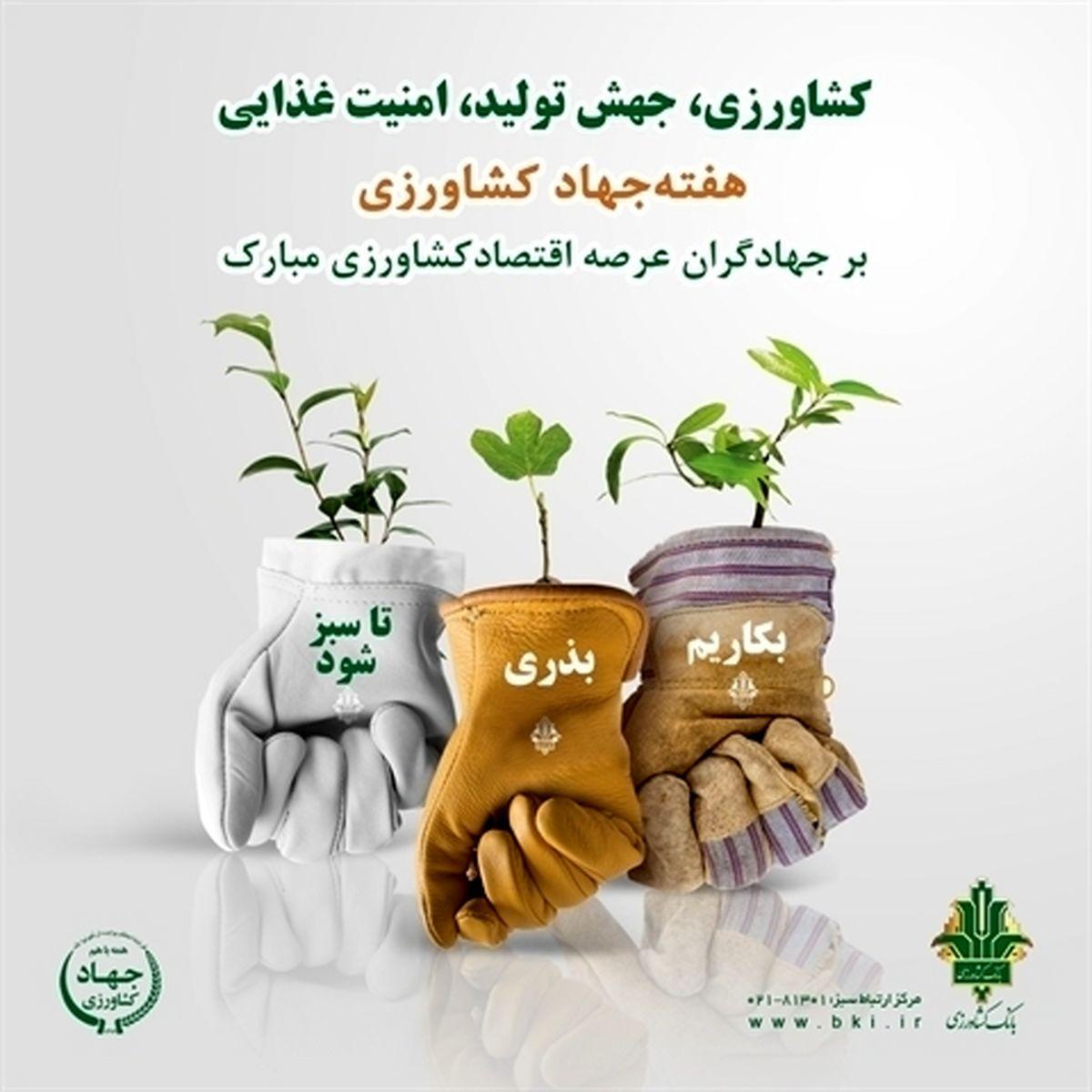 بانک کشاورزی، جذب سرمایه، توسعه کارآفرینی و اشتغال