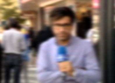خبرنگار صدا و سیما گزارشگر شبکه من و تو شد