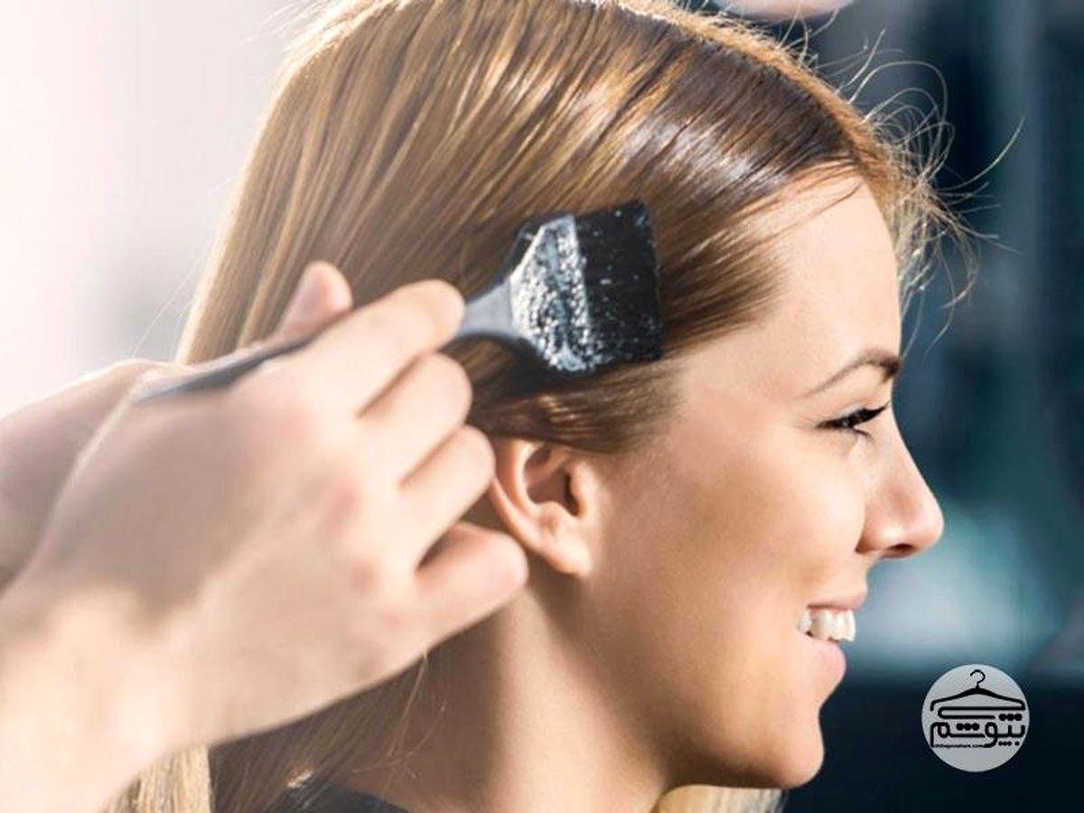 آموزش رنگ کردن مو به صورت حرفه ای + ترفندهای جالب