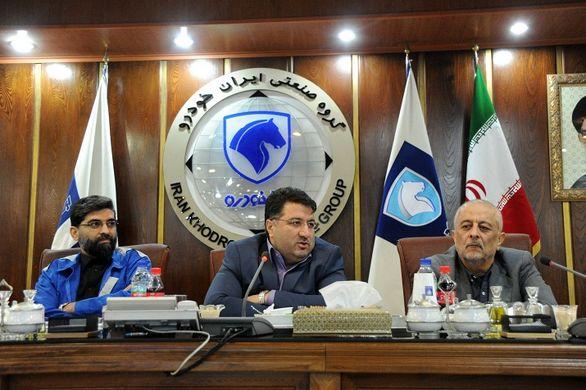 افزایش کیفیت و توسعه عمق ساخت داخل رویکردهای اصلی ایران خودرو