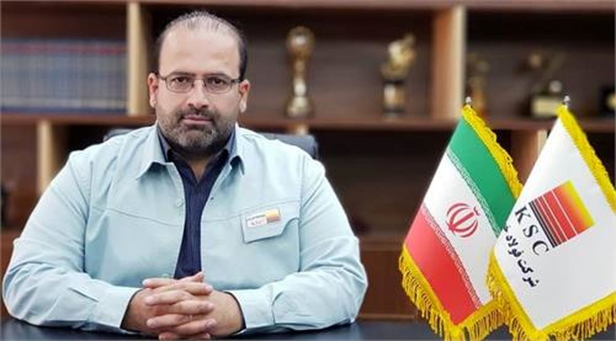 امین ابراهیمی مدیرعامل شرکت فولاد خوزستان