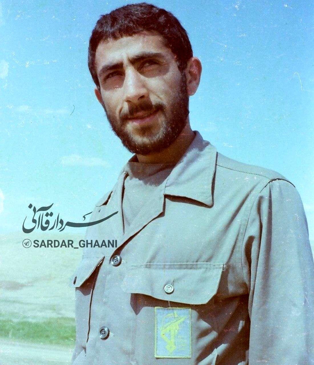 جدیدترین تصویر منتشر شده از سردار قاآنی در دوران دفاع مقدس