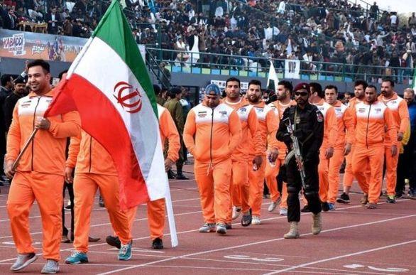 پیروزی تیم ملی کبدی ایران در مسابقات قهرمانی جهان