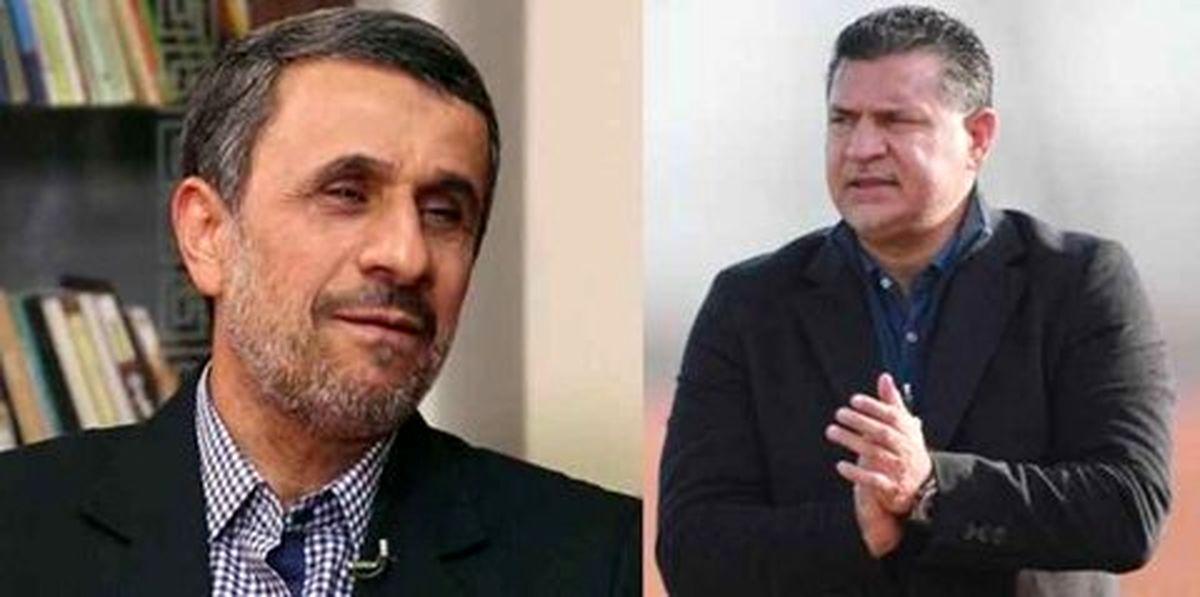 احمدی نژاد: در سطح من نبود که دایی را برکنار کنم