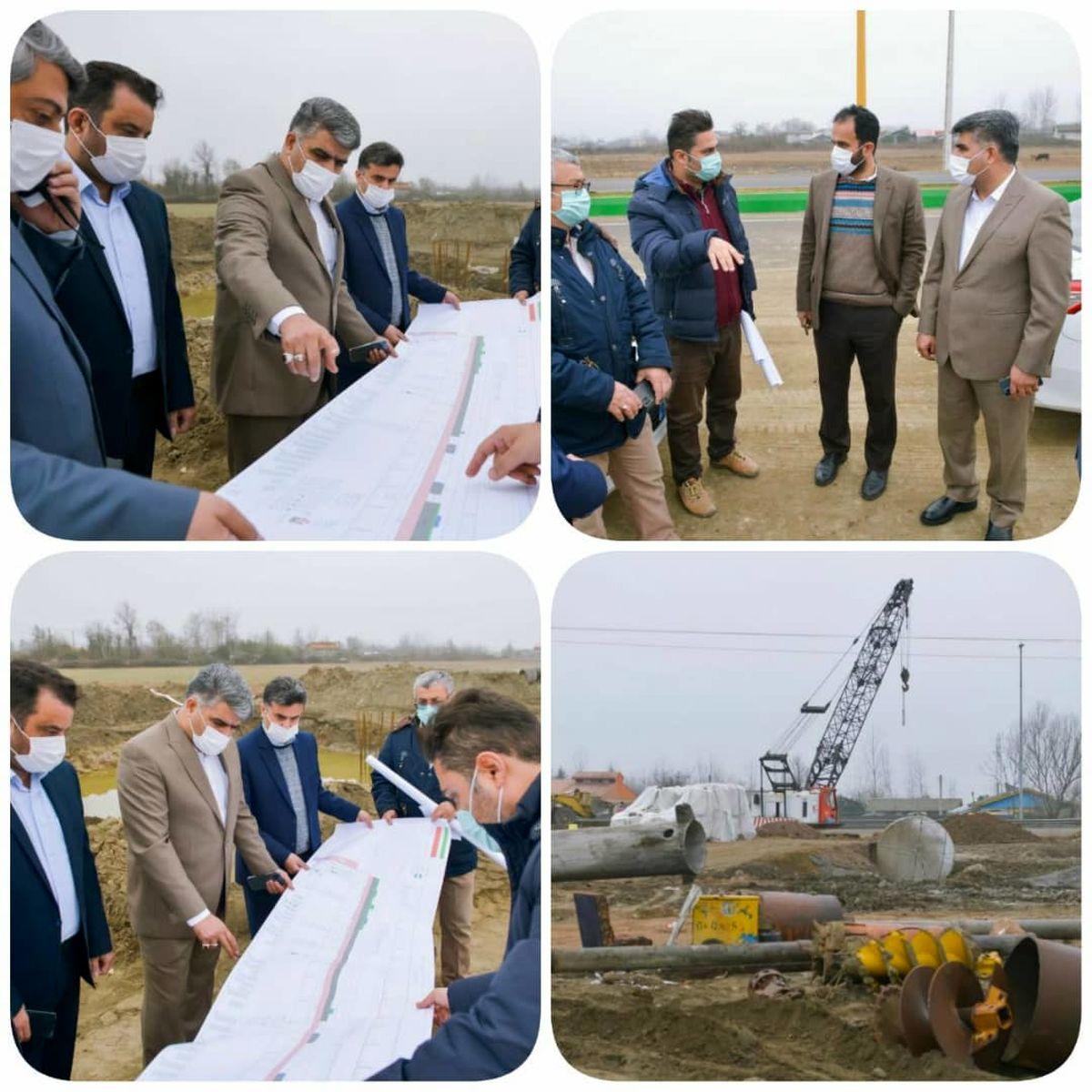 پیگیری های ویژه از پروژه اتصال راه آهن به منطقه آزاد انزلی