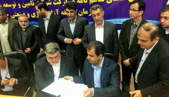 """تفاهمنامه مشارکت در """"طرح نمک زدایی و انتقال آب دریای عمان به سه استان شرقی امضاء شد"""