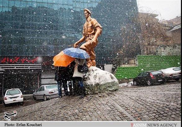 هواشناسی ایران98/09/23 _ پیش بینی برف و باران برای برخی استان ها