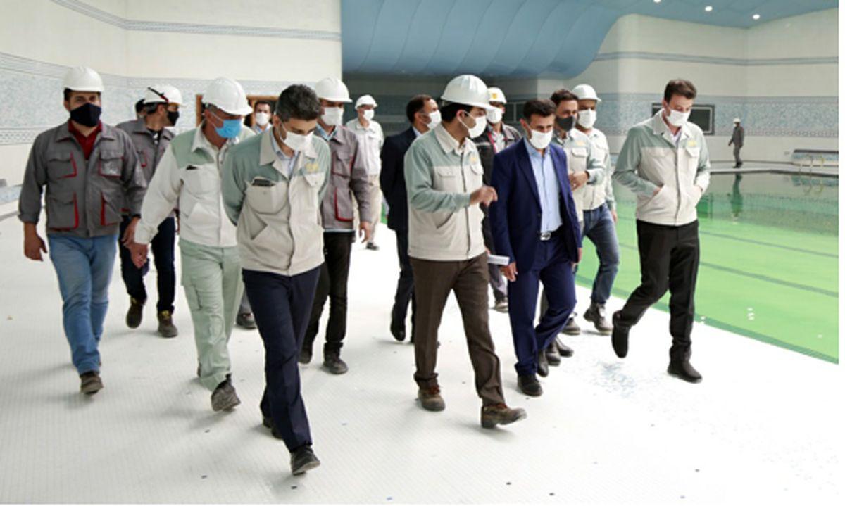 استقبال وزارت ورزش از سرمایهگذاری شرکت فولاد مبارکه در احداث دهکدۀ المپیک