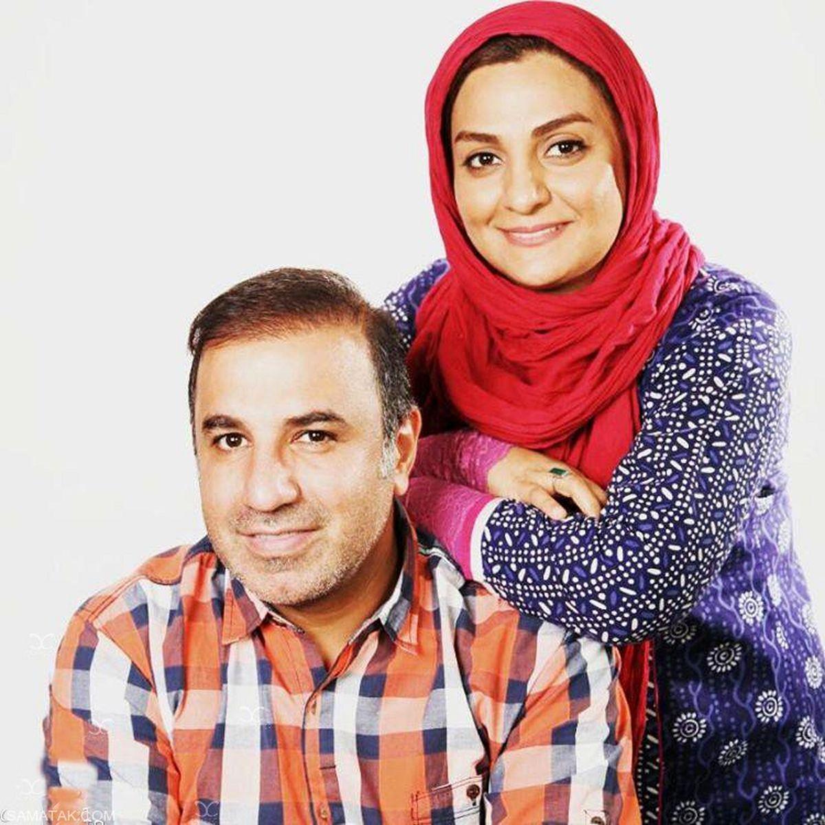 بیوگرافی علی سلیمانی با همسر و دخترش + عکس