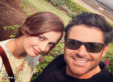 مراسم ازدواج محمد رضا گلزار و همسرش + بیوگرافی و عکس