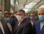 بازدید وزیر جهاد کشاورزی از مجتمع گلخانه ای مشارکتی بانک کشاورزی در خوسف