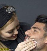 عکسهای عاشقانه مهدی طارمی و سحر قریشی در آتلیه لو رفت + تصاویر