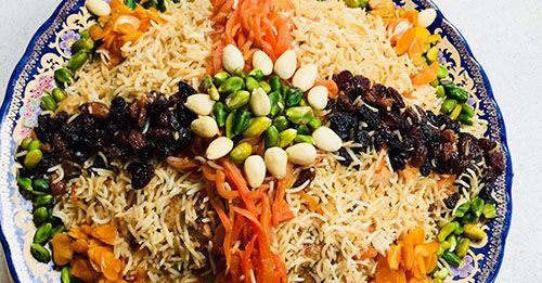 طرز تهیه قابلی پلوی غذای خوشمزه و خوش ذائقه افغانی