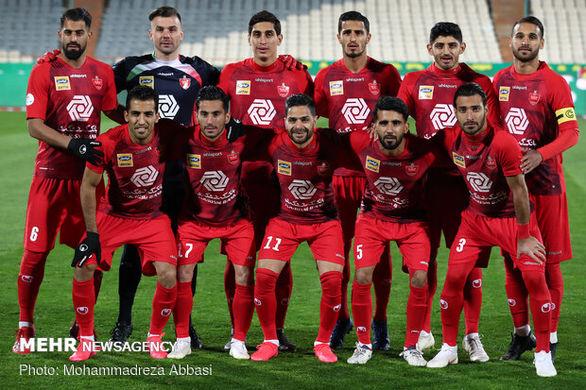 وضعیت تیم پرسپولیس در رقابتهای لیگ برتر