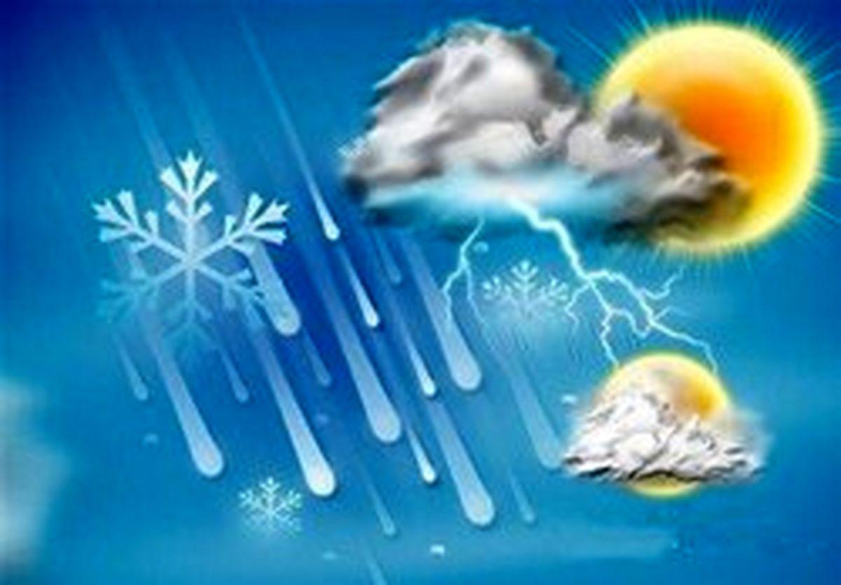 بارش باران و برف در اکثر مناطق کشور تا یکشنبه آینده
