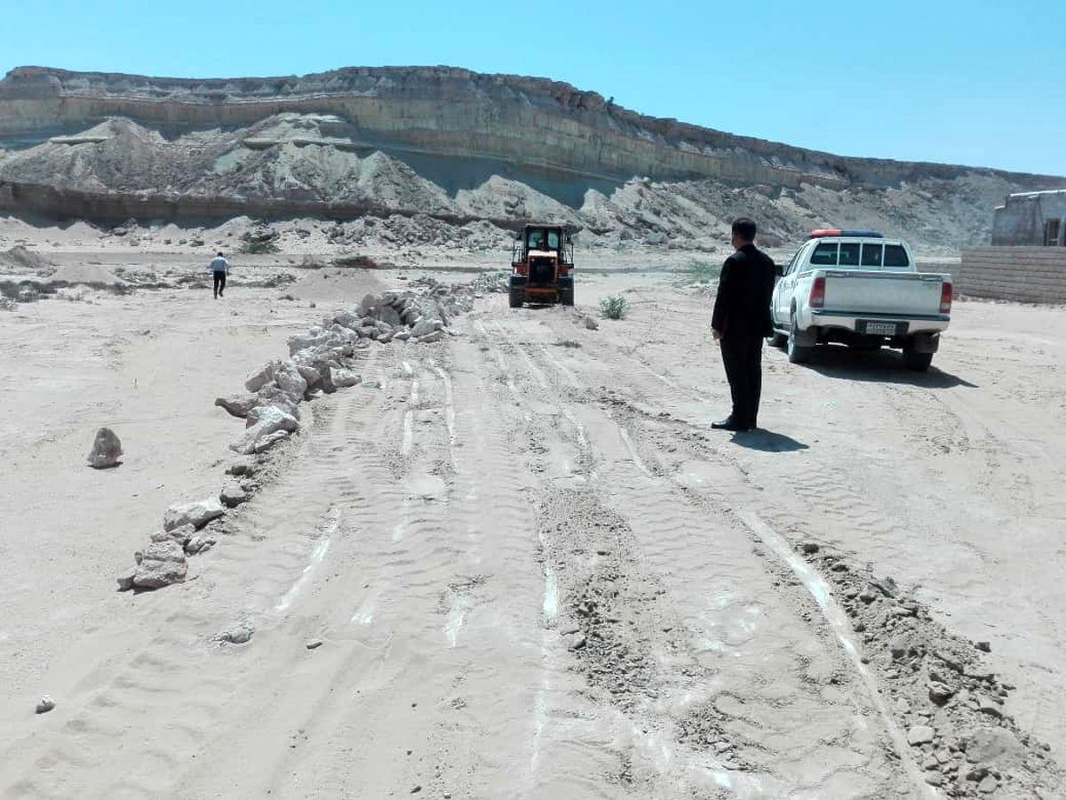 رفع تصرف اراضی ملی به ارزش بیش از 5 میلیارد ریال در روستای دفاری