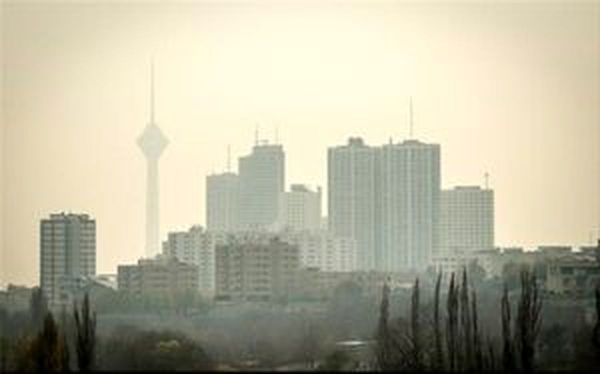 تهران در سومین روز پیاپی آلودگی هوا