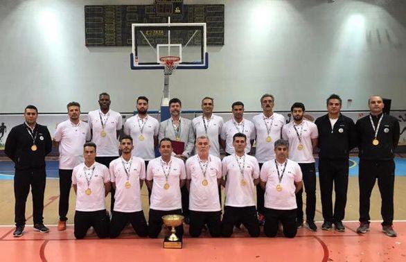 ذوبآهن اصفهان قهرمان مسابقات بسکتبال ایمیدرو در سال ۹۸ شد