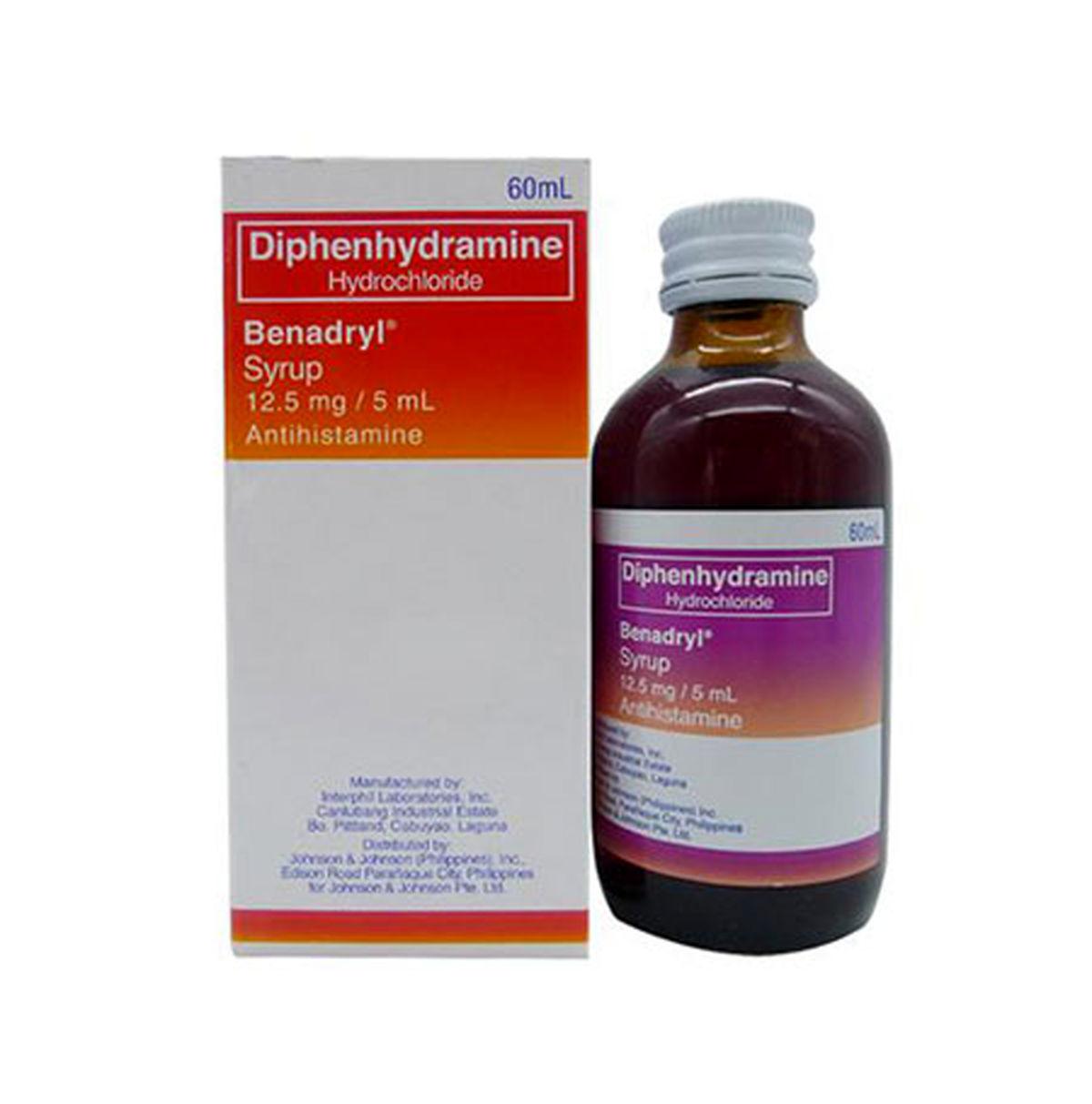 شربت دیفن هیدرامین چیست؟ + موارد مصرف و عوارض