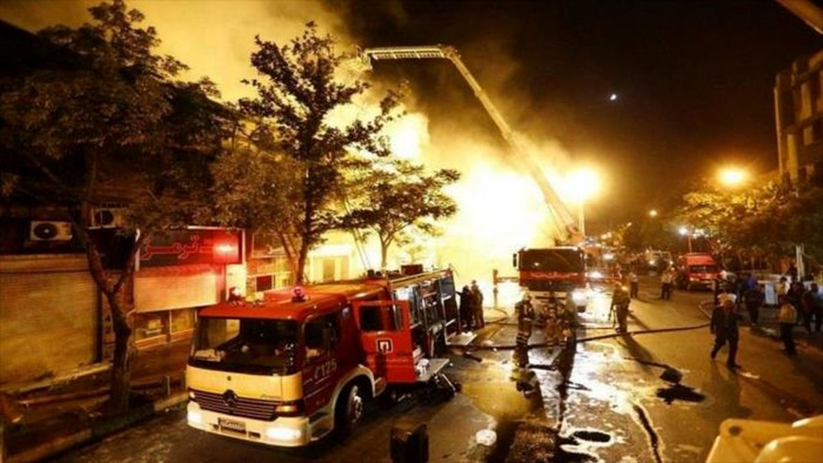 انفجار مرگبار در خیابان 17 شهریور تهران حادثه ساز شد + فیلم