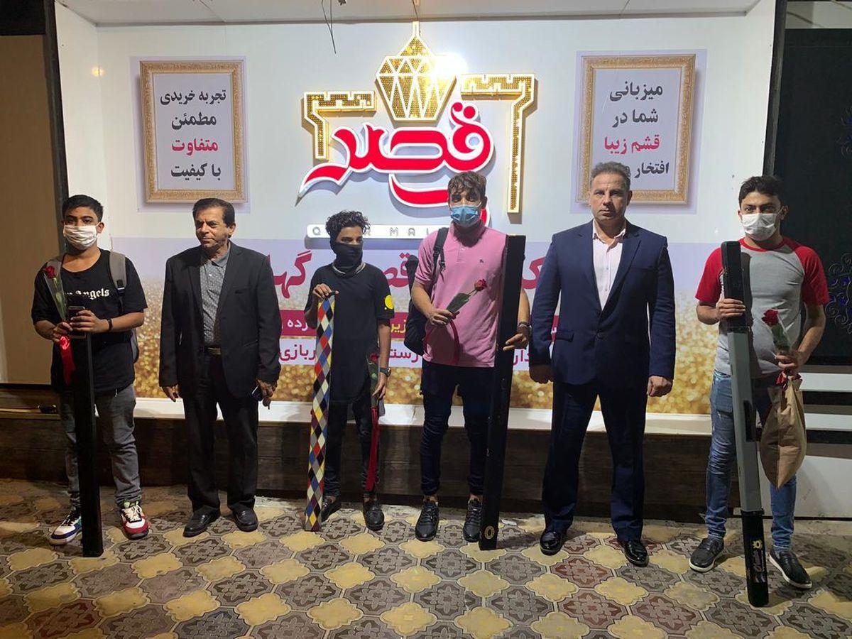 نماینده منطقه آزاد قشم نفر برتر مسابقات اسنوکر استان هرمزگان شد