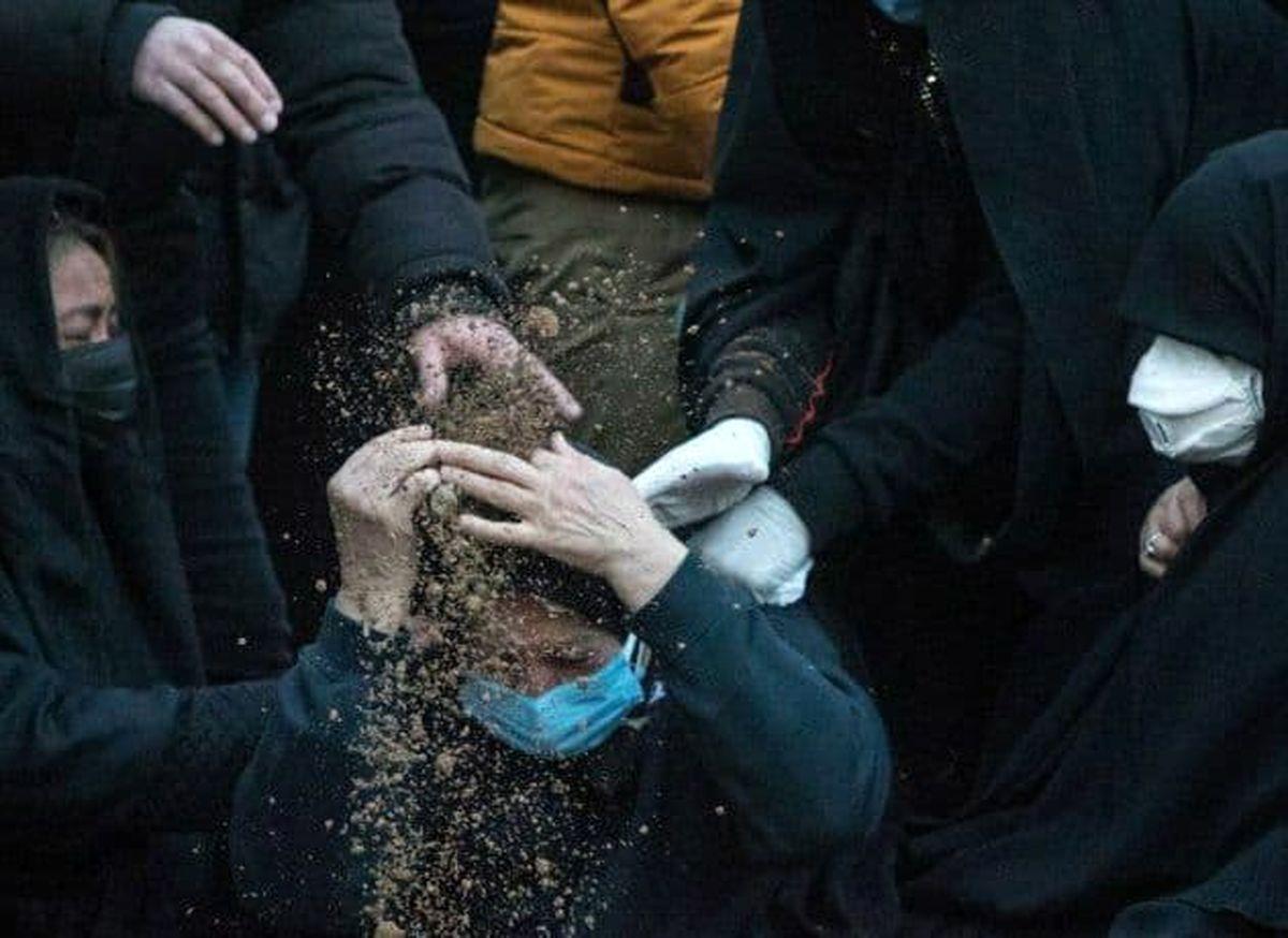 پیام جانسوز ننه علی به مردم ایران + عکس