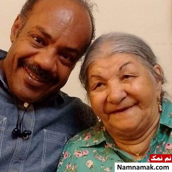 سیروس کهوری نژاد و مادرش
