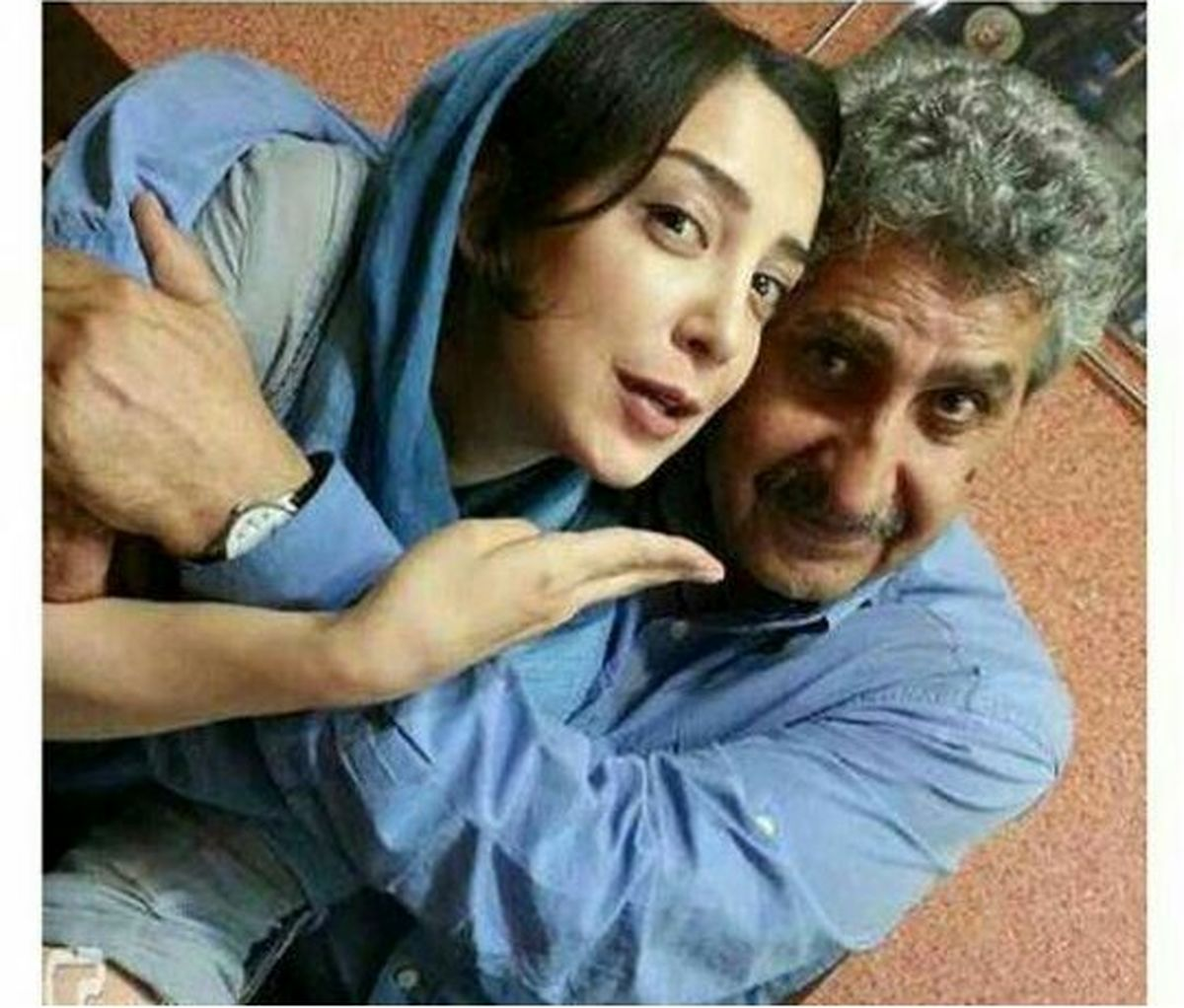 بازیگر زن مشهور در آغوش مردی که عاشقش است + عکس