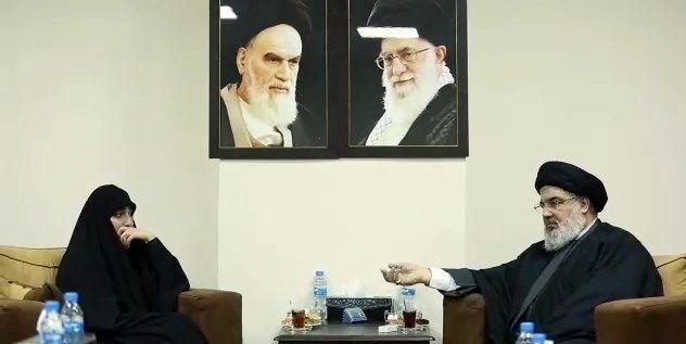 شهید سپهبد قاسم سلیمانی , حزب الله لبنان , سید حسن نصرالله ,