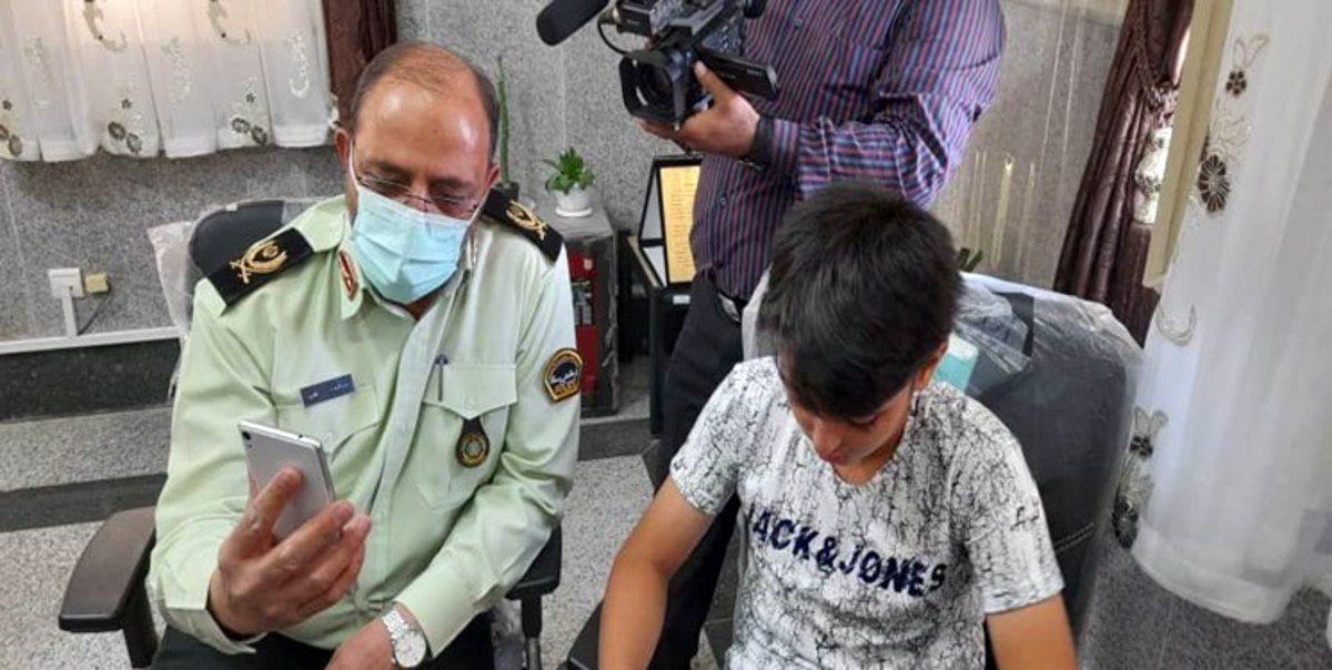 گروگان ۱۴ ساله پس از ۹ روز از چنگال آدمربایان آزاد شد   عکس گروگان 14 ساله