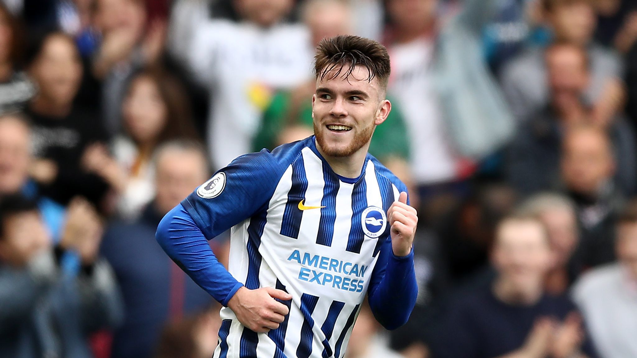 Brighton's Aaron Connolly handed first Republic of Ireland senior ...